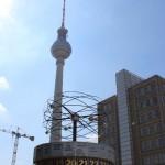 Weltzeituhr, Berlin Alexanderplatz