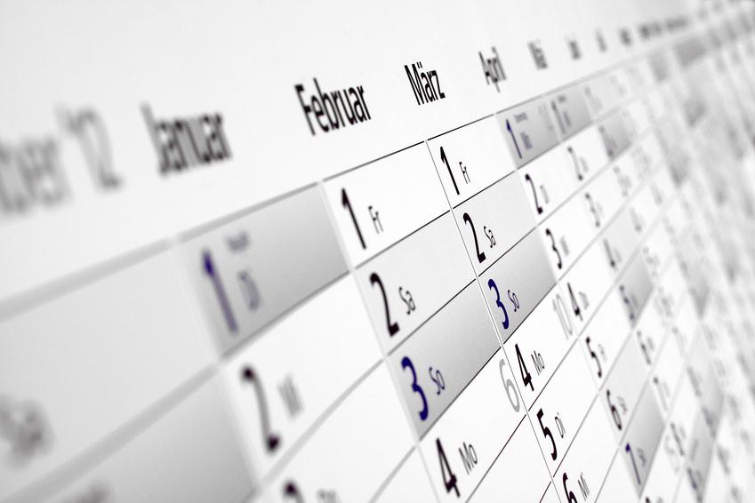 Kalender Brückentage Urlaub