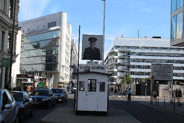 Checkpoint Charlie, Berlin Mitte