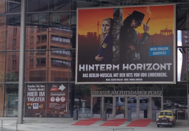 Hinterm Horizont comédie musicale à Berlin